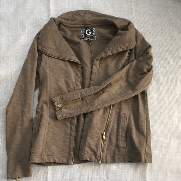newest great discount sale beautiful in colour G by Guess olive green jacket